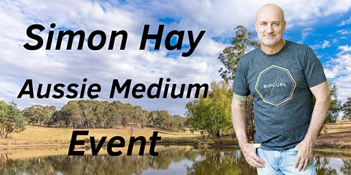 Aussie Medium, Simon Hay, at The City Bowling Club in Orange, NSW