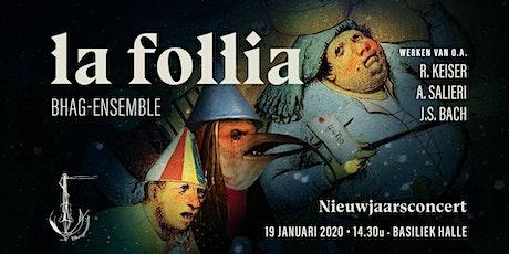 Nieuwjaarsconcert La Follia billets
