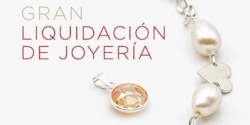 Showroom de joyería exclusiva en liquidación