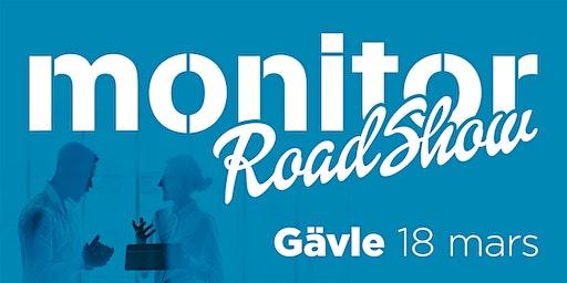 Monitor Roadshow Norra Sverige – Gävle 18/3 2020