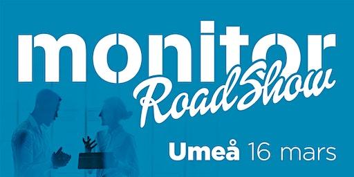 Monitor Roadshow Norra Sverige – Umeå 16/3 2020