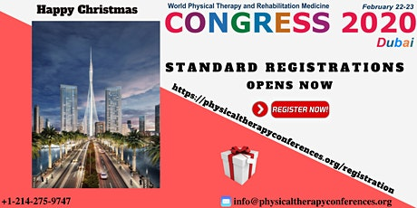 World Congress on Physical Therapy and Rehabilitation Medicine tickets