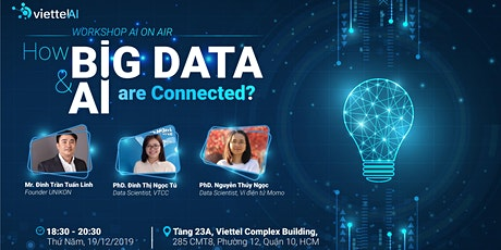 AI ON AIR:  HOW BIG DATA & AI ARE CONNECTED tickets