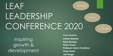 LEAF Leadership Conference - Inspiring growth & development tickets