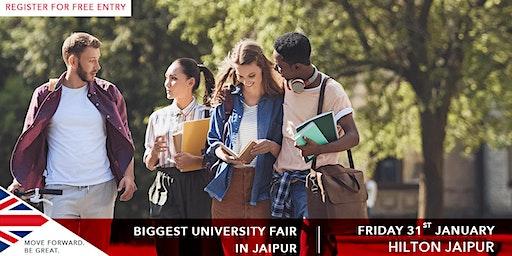 SI-UK University Fair 2020 Jaipur, Upcoming UK Education Fair