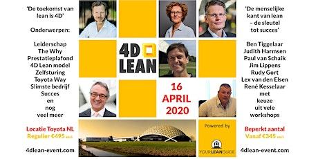 4D Lean event: de menselijke kant van lean, de sleutel tot succes tickets