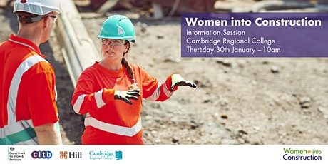 Women into Construction Information Session tickets