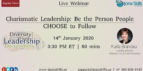 Charismatic Leadership: Be the Person People CHOOSE to Follow tickets