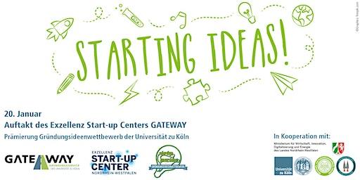 "Kick-off ESC GATEWAY x  Preisverleihung ""Start-up your idea"""