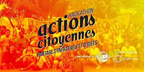 Hackathon Actions Citoyennes : Bruxelles billets