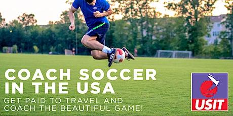 Coach Soccer USA - Recruitment Day - Limerick tickets