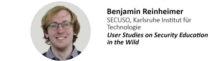 USP Day  2020 - Workshop on Usable Security and Privacy image