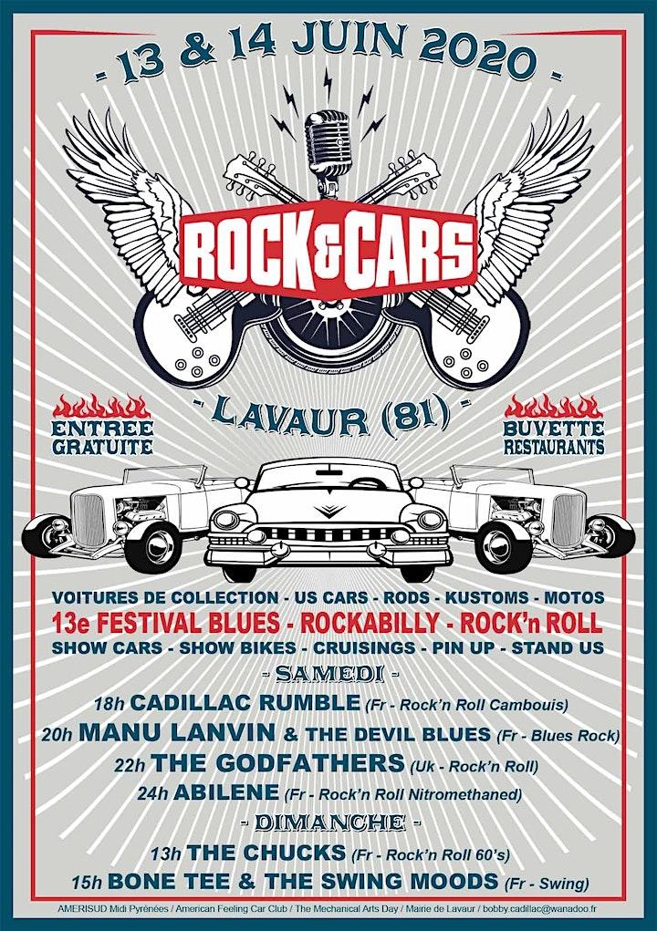 Image pour Festival ROCK'&'CARS à Lavaur (81) les 13 et 14 juin 2020