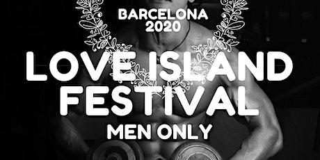 Barcelona Love Island Men Only entradas