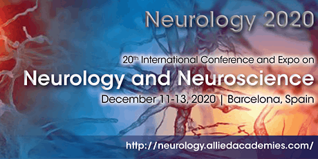 20th International Conference and Expo on Neurology and Neuroscience tickets