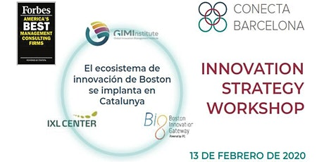 INNOVATION STRATEGY WORKSHOP en Barcelona tickets