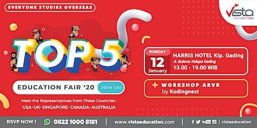 TOP 5 Favorite Countries Education Fair 2020 - Jakarta Utara