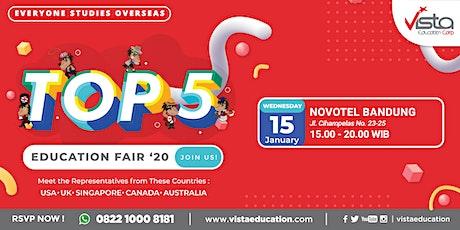 TOP 5 Favorite Countries Education Fair 2020 - Bandung tickets