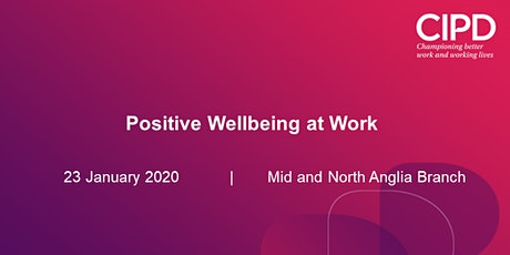 Positive Wellbeing at Work tickets
