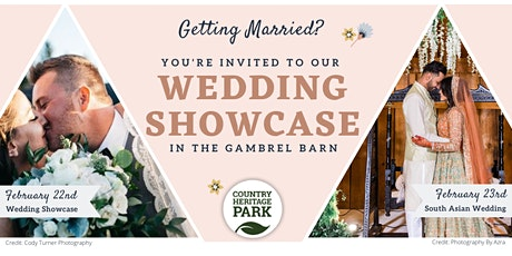 Country Heritage Park's Wedding Showcase tickets