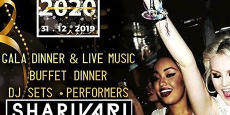 Capodanno 2020 Roma Shari Vari: Gala Dinner & Dj Set 0698875854 biglietti