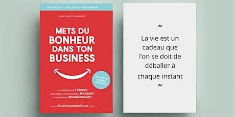 Conférence : Mets du bonheur dans ton business billets