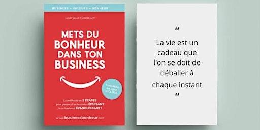 Conférence : Mets du bonheur dans ton business