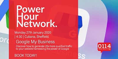 Power Hour Network : Google My Business w/ David Johnson