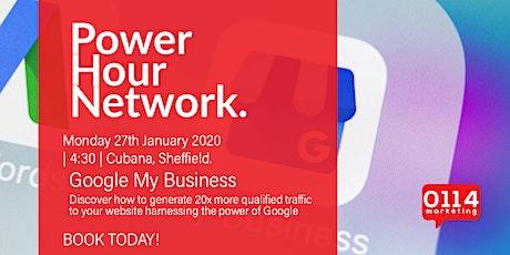 Power Hour Network : Google My Business w/ David Johnson tickets