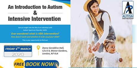 An Introduction to Autism & Intensive Intervention tickets