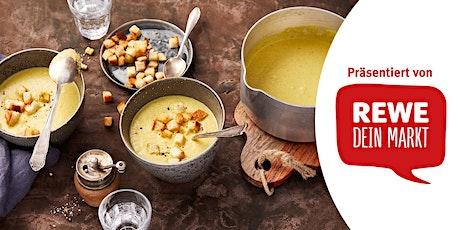 REWE Koch-Workshop: Fenchelsuppe mit Curry-Croutons Tickets