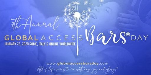 Join us to Celebrate - The Annual Global Access Bars Day!