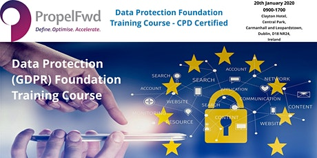 GDPR foundation course - CPD certified - €549.00 tickets