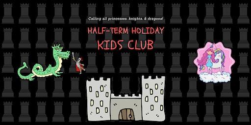 February 2020 Half-Term Holiday Kids Club