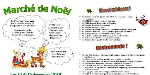 Marché de Noël à Bléneau
