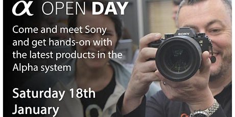 Sony Alpha Open Day tickets