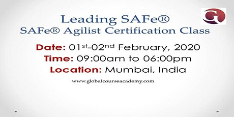 Leading SAFe Certification Training In Mumbai on 01st and 02nd Feb, 2020 tickets