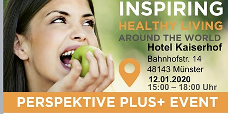 Perspektive + Event	   Inspiring Healthy Living around the world Tickets