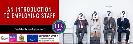 An Introduction to Employing Staff | Friday 31st January at 9.30am tickets
