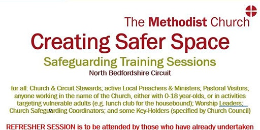 North Bedfordshire Methodist Circuit: Creating Safer Space Refresher