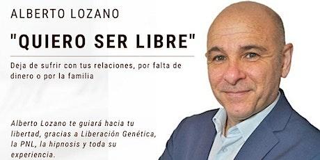 """""""Quiero ser libre"""" Taller de Liberación Genética en Madrid entradas"""