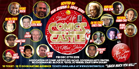 Stand Up Comics at the CASTLE tickets