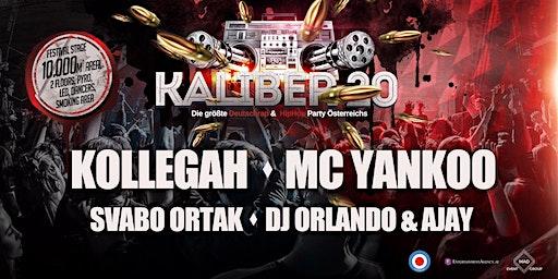 KALIBER 20 - Die größte Deutschrap & HipHop Party Österreichs