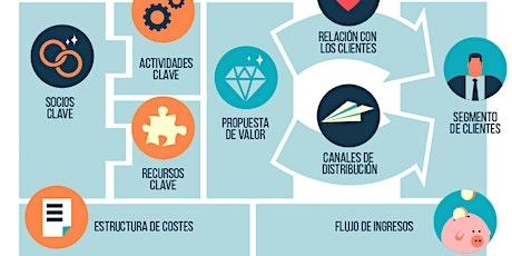 EMPRENDE -DISEÑA TU MODELO DE NEGOCIO CON BUSINESS MODEL CANVAS entradas