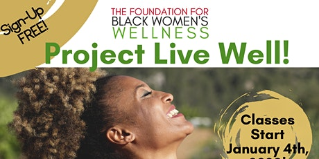 Project Live Well 2020 tickets