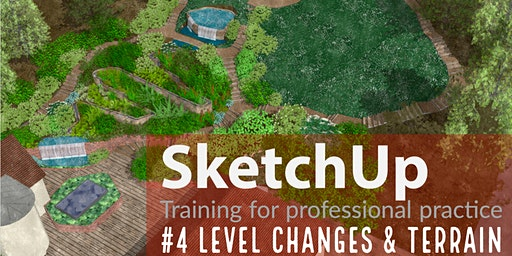SKETCHUP: Levels & Terrains, Hampshire