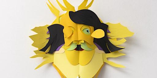 Ochtend - KIND - Workshop maskers maken met Karen Sargsyan