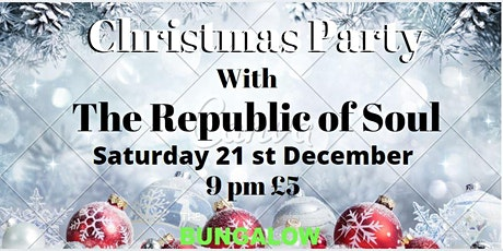 The Republic of Soul Live (Band show only) tickets