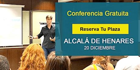 Conferencia GRATIS Alcalá: Si supieras que no vas a fracasar, ¿qué harías? entradas
