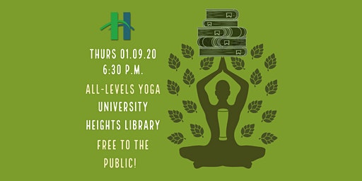 Bottoms Up! FREE Yoga at the Library - [Bottoms Up! Yoga & Brew]
